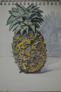 Getting to Know Your Brushes 3 - Painting Fruit