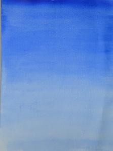 1st Successful Wash Ultramarine