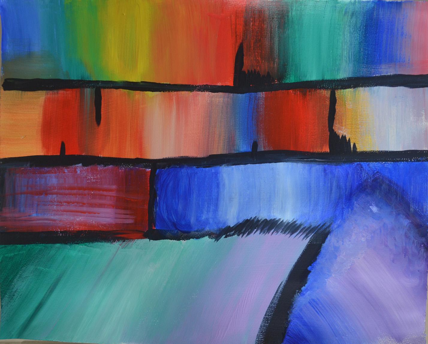 2 Transparent To Opaque Mark Smith Oca Painting 1 The