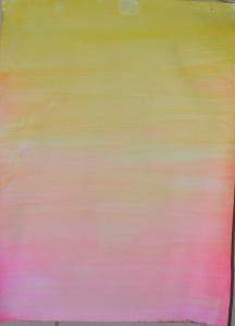 7 - Yellow over Flourescent Pink