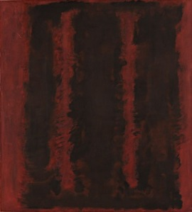 Mark Rothko Black on Maroon 1958
