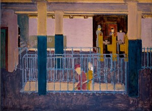 Mark Rothko - Entrance to Subway - Subway Scene - 1938