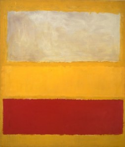 Mark Rothko Number 13 -White Red on Yellow