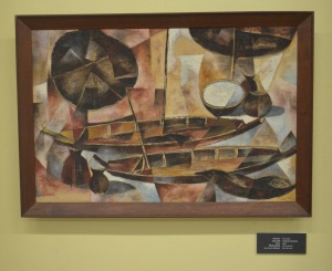 Thawan Duchanee - Two Boats - 1963