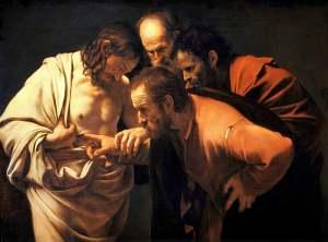Caravaggio - Doubting Thomas