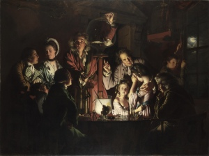 Joseph Wright of Deby - An Experiment on a Bird in an Air Pump