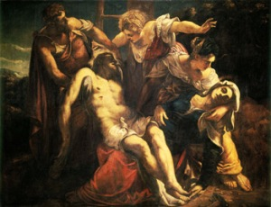 Tintoretto - Lamentation over the Dead Chris