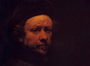 Rembrandt - Self portrait 1657