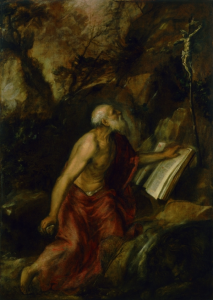 Titian Saint Jerome in the Desert