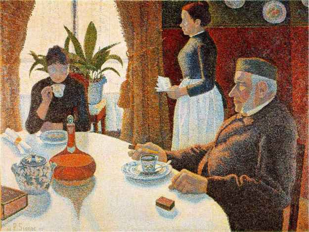 Paul Signac, The Breakfast, 1886-87