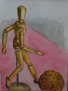 5 Watercolour Sketch of Manakin