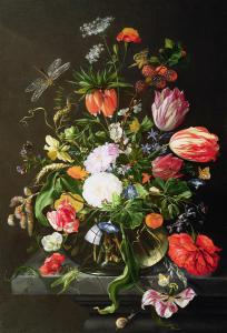 Jan Davisz de Heem Still Life of Flowers