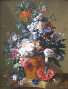 Jan van Huysum Vase of Flowers
