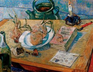 Vincent van Gogh  - Still Life with a Drawing Board