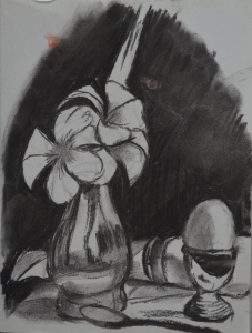 1 - Charcoal Sketch