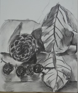 3rd Sketch in Charcoal