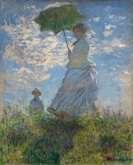 Claude Monet Woman with a Parasol 1875