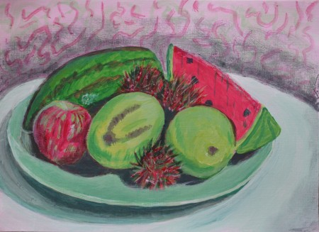 Still Life with Complimentary Colours