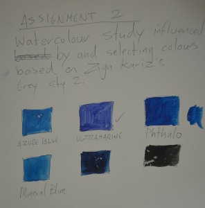 6 - Acrylic Paint Colours Closest to Watercolours