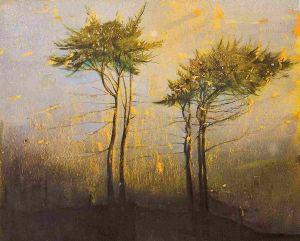 Elizabeth Magill - Blue Hold - Oil 153 x 183 cm