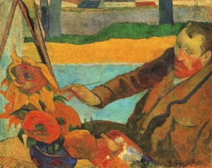 Gauguin Portrait of van Gogh