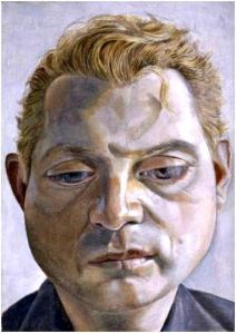 Lucian Freud Portrait of Francis Bacon 1952