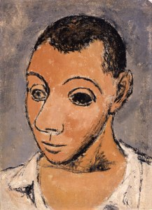 Pablo Picasso Self-Portrait Negro Period 1906