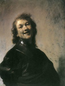Rembrandt self-portrait 1629