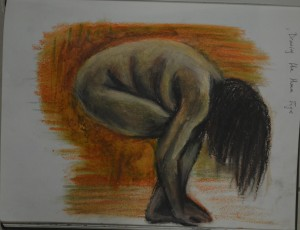 5 Drawing in Oil Pastel
