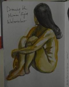 8 Watercolour Sketch
