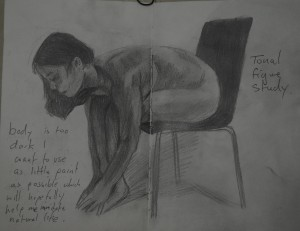 3rd Tonal Study in Pencil