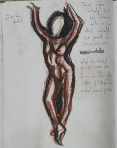 5th Tnal Study Life Drawing