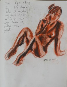 6th Tonal Study Life Drawing
