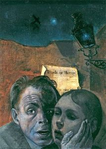 felix nussbaum | Felix Nussbaum, Fear (Self-Portrait with his Niece Marianne), 1941