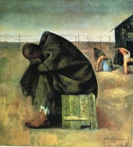 Felix Nussbaum - Prisoner 1940