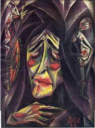 Otto Dix the Nun