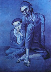 Pablo Picasso The Old Beggar