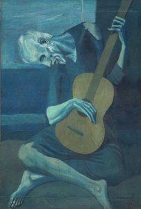 Pablo Picasso, The Old Guitarist, 1903