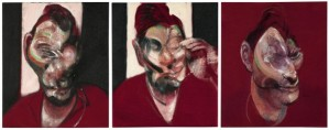 Three Studies for a Portrait of Lucian Freud