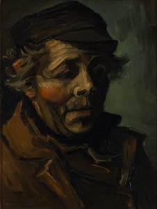 Vincent van Gogh - Head of a peasant