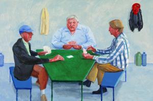 David Hockney Card Players No1
