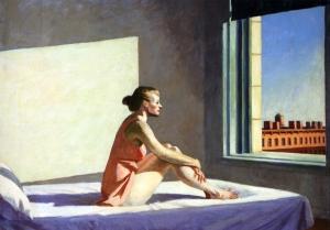 Edward Hopper Morning Sun (1952)