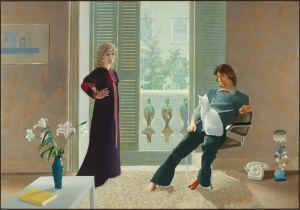 Mr and Mrs. Clark and Percy david Hockney