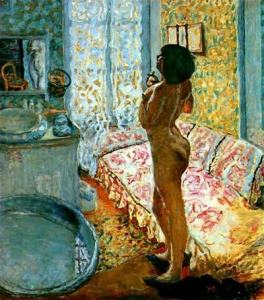 Pierre Bonnard - Model in Backlight