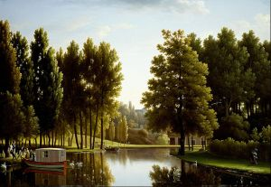 1 Bidauld, Jean Joseph Xavier - The Park at Mortefontaine