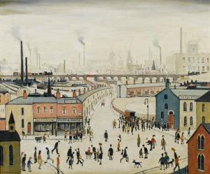 1958 - Industrial Landscape - LS Lowry