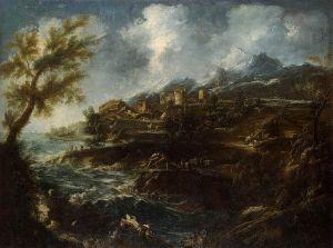 2 Alessandro Magnasco - The Seashore