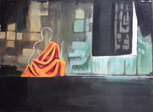 7 - Painting in The Robes