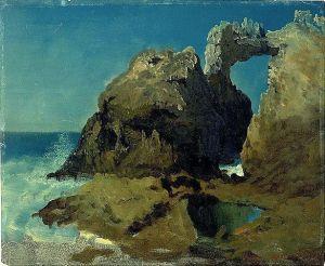 Albert Bierstadt - Farralones Islands, Pacific Ocean