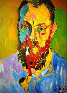 André Derain - Portrait of Henri Matisse 1905